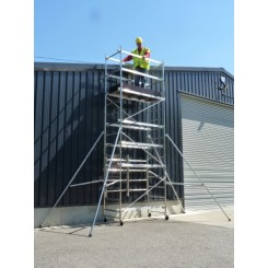 5.5m metre scaffold tower for hire